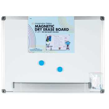 Magnetic Dry Erase Board with Tray